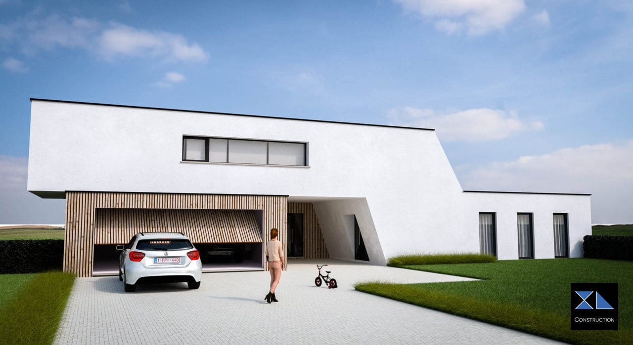 Villa de prestige modèle XL44, entreprise de construction à Liège, Namur, Luxembourg, Bruxelles et Charleroi