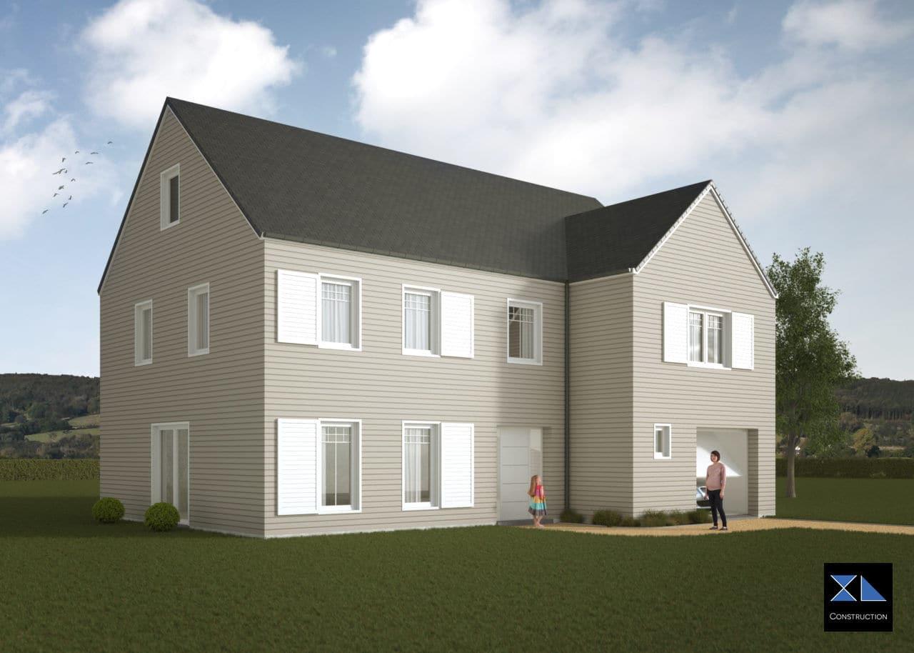 Entreprise de générale de construction : Villa de prestige modèle XL37