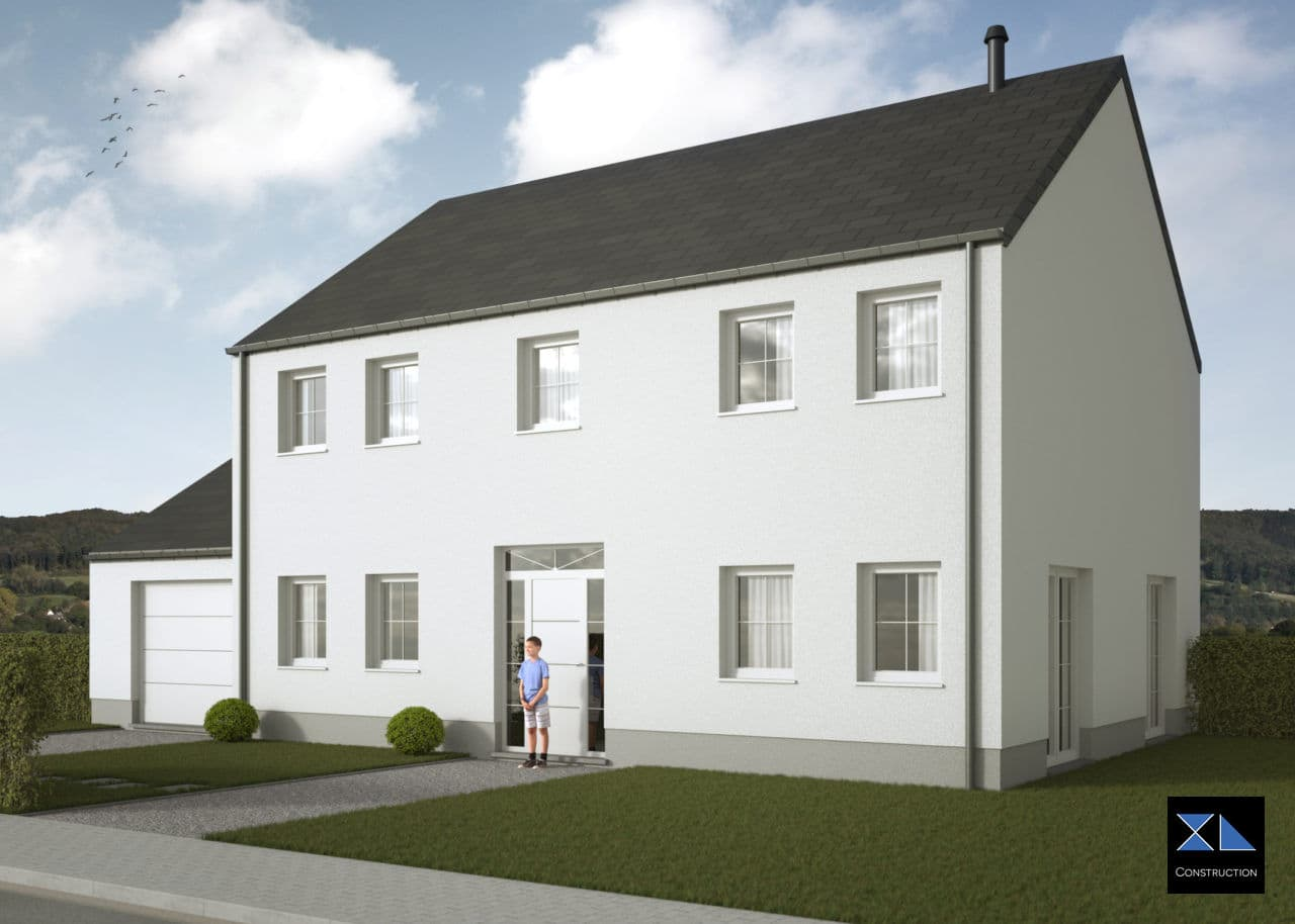 Entreprise de générale de construction : Maison clé sur porte modèle XL13