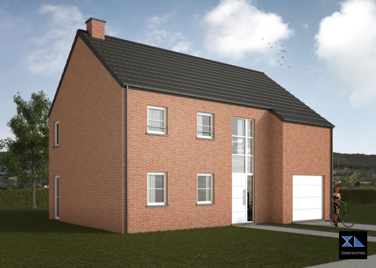 Entreprise de générale de construction : Maison clé sur porte modèle XL19