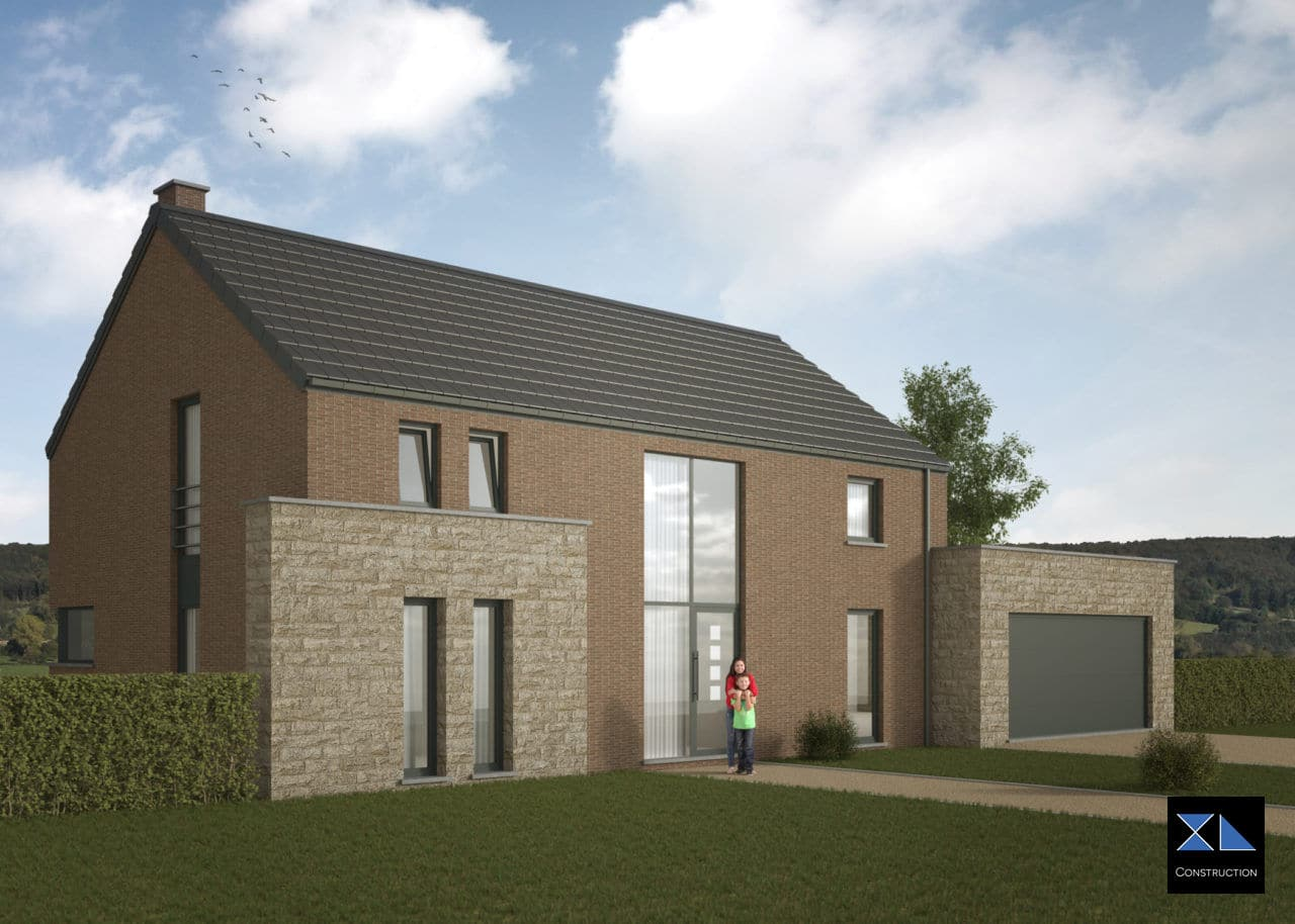 Entreprise de générale de construction : Maison clé sur porte modèle XL28