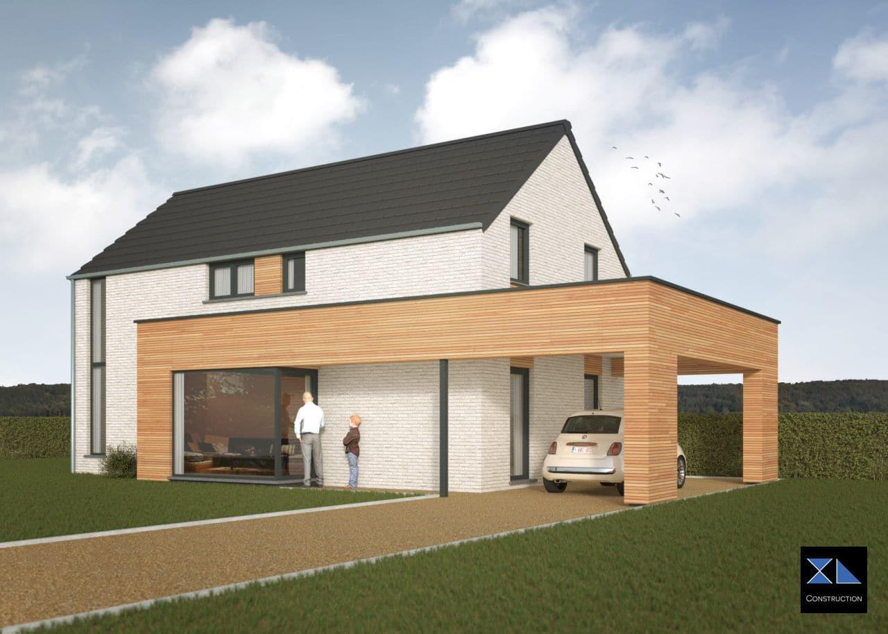 Entreprise de générale de construction : Maison moderne modèle XL17