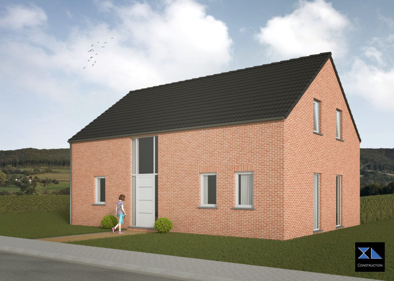 Entreprise de générale de construction : Maison clé sur porte modèle XL06