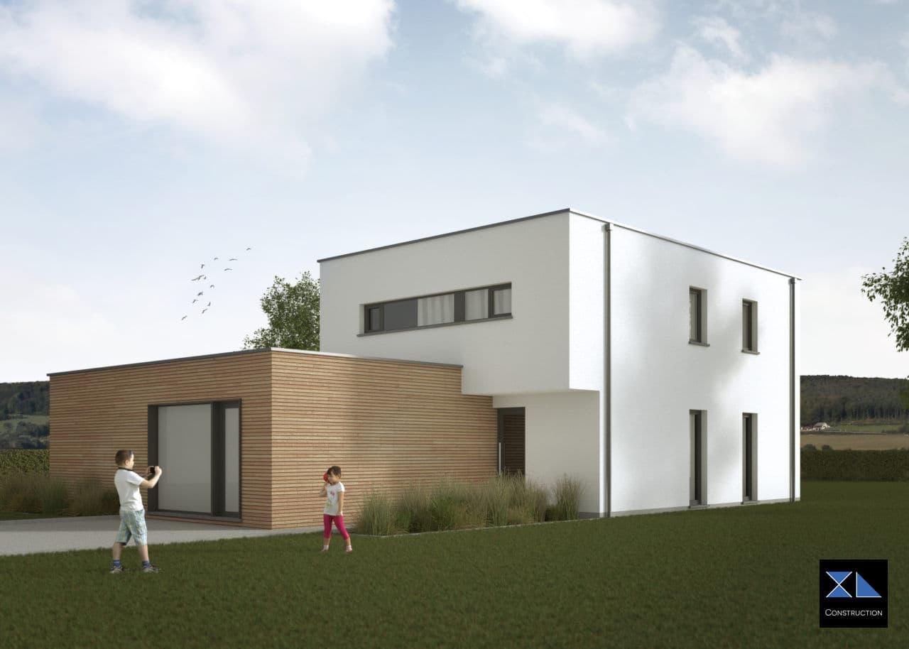 Entreprise de générale de construction : Maison moderne modèle XL28