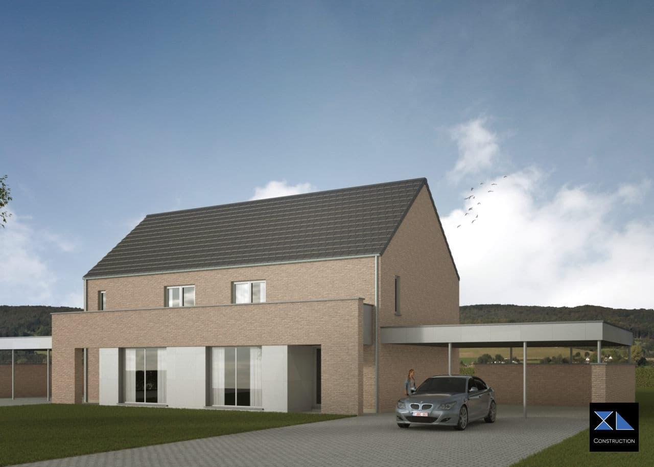 Entreprise de générale de construction : Maison clé sur porte modèle XL09