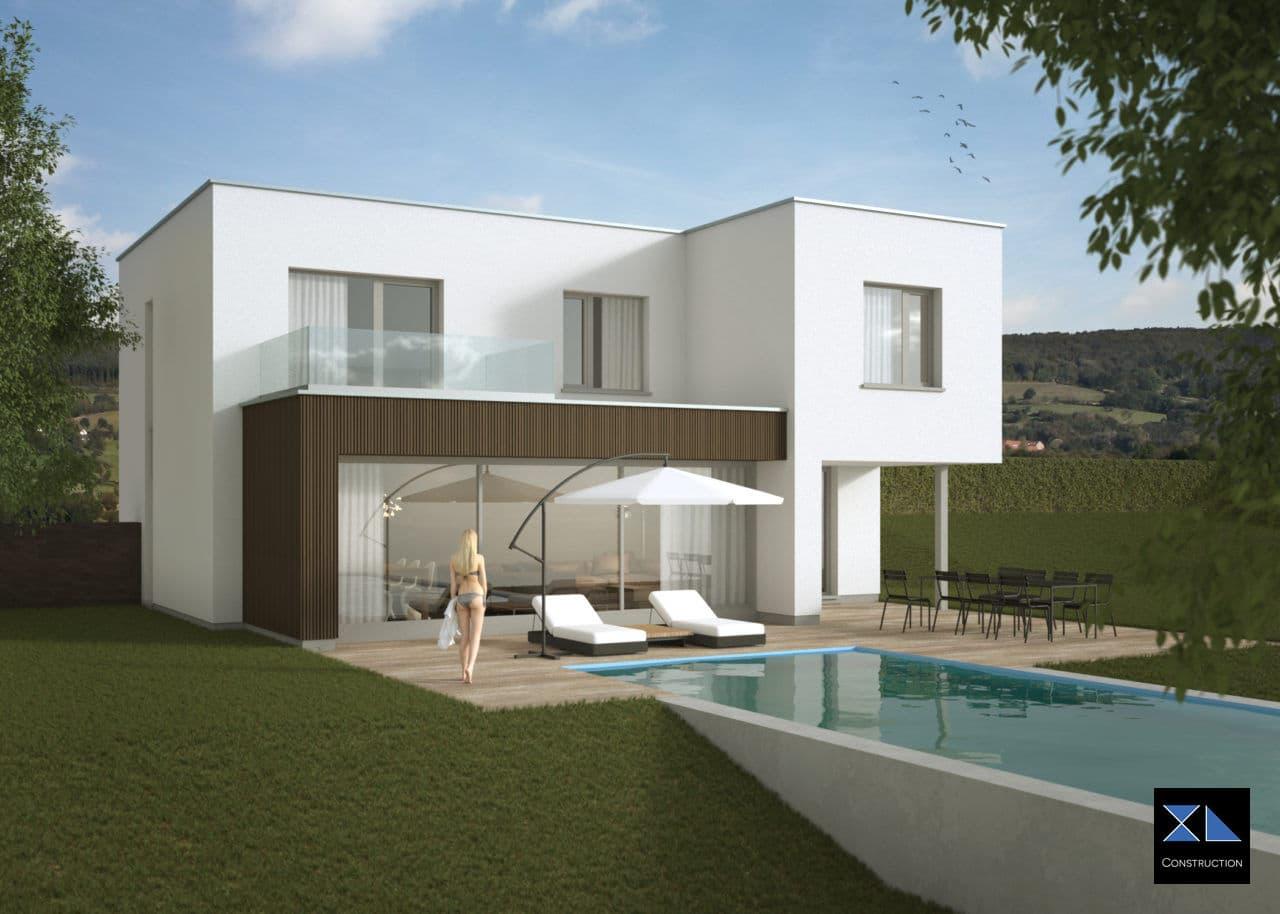 Entreprise de générale de construction : Maison moderne modèle XL29