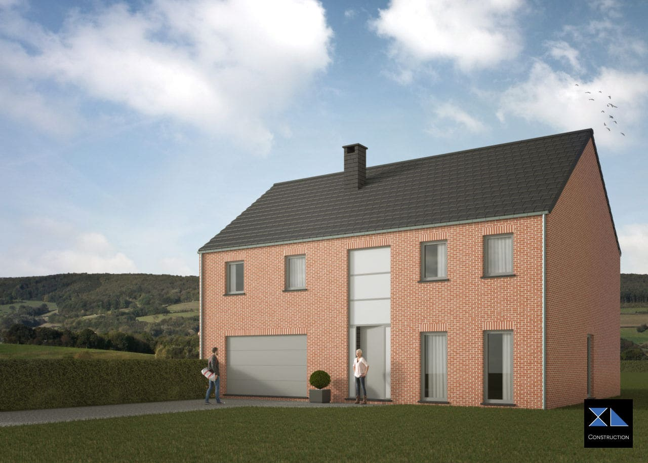Entreprise de construction : Maison clé sur porte modèle XL26