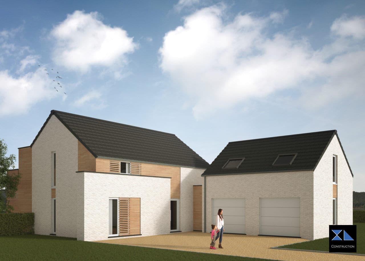 Entreprise de construction : Villa de prestige modèle XL36