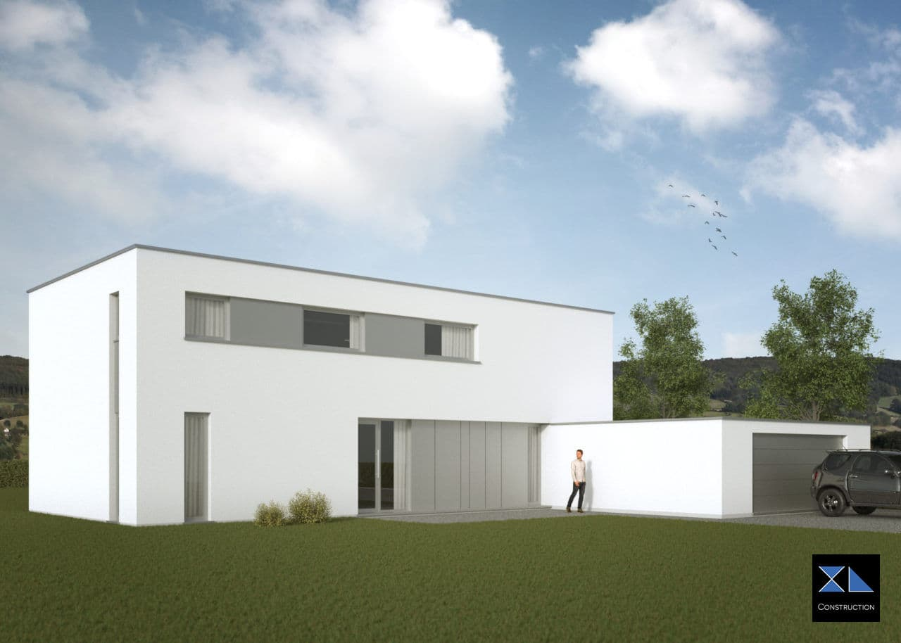 Société de construction : Villa de prestige modèle XL38