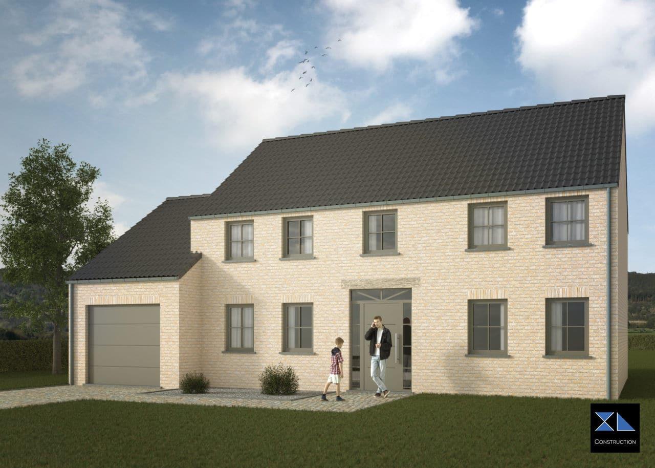 Entreprise de construction : Maison clé sur porte modèle XL21