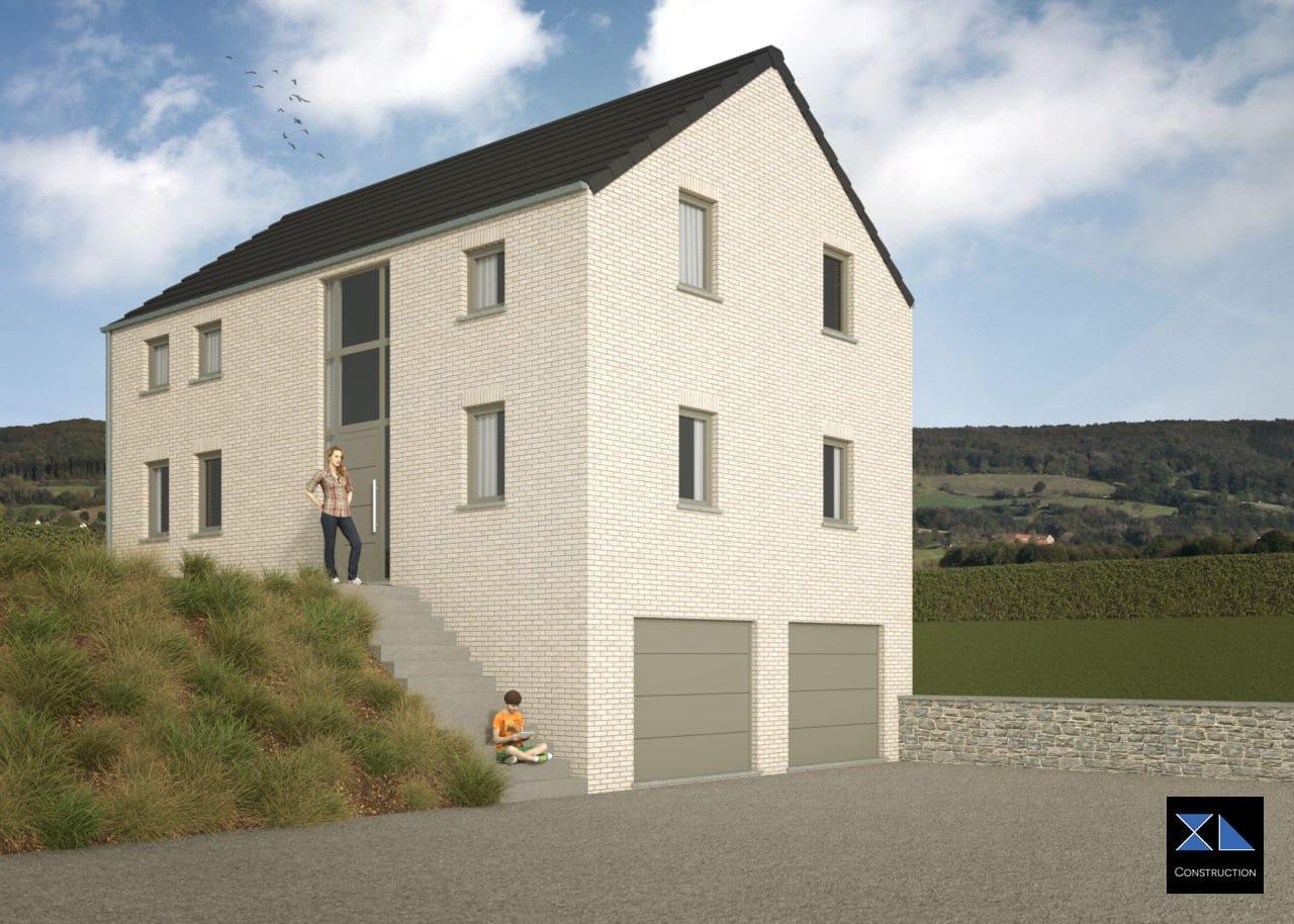 Construction de Maison clé sur porte modèle XL20
