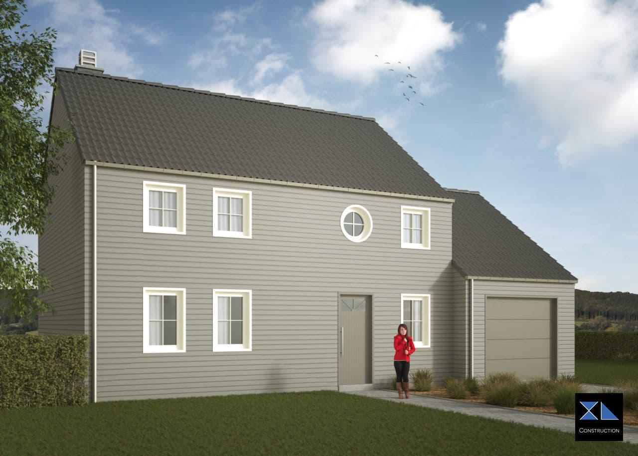 Maison clé sur porte modèle XL27, constructeur de maison