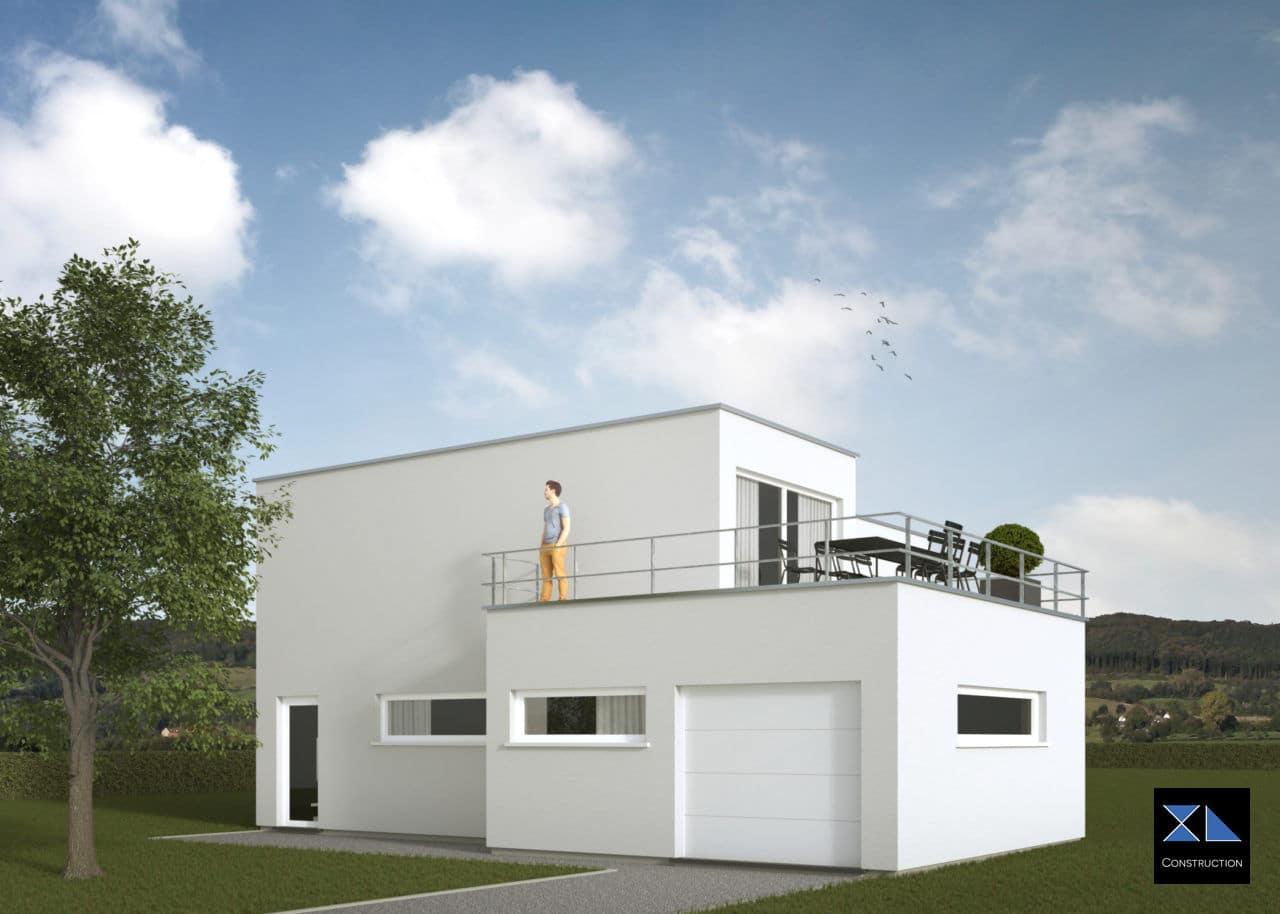 Maison moderne modèle XL32