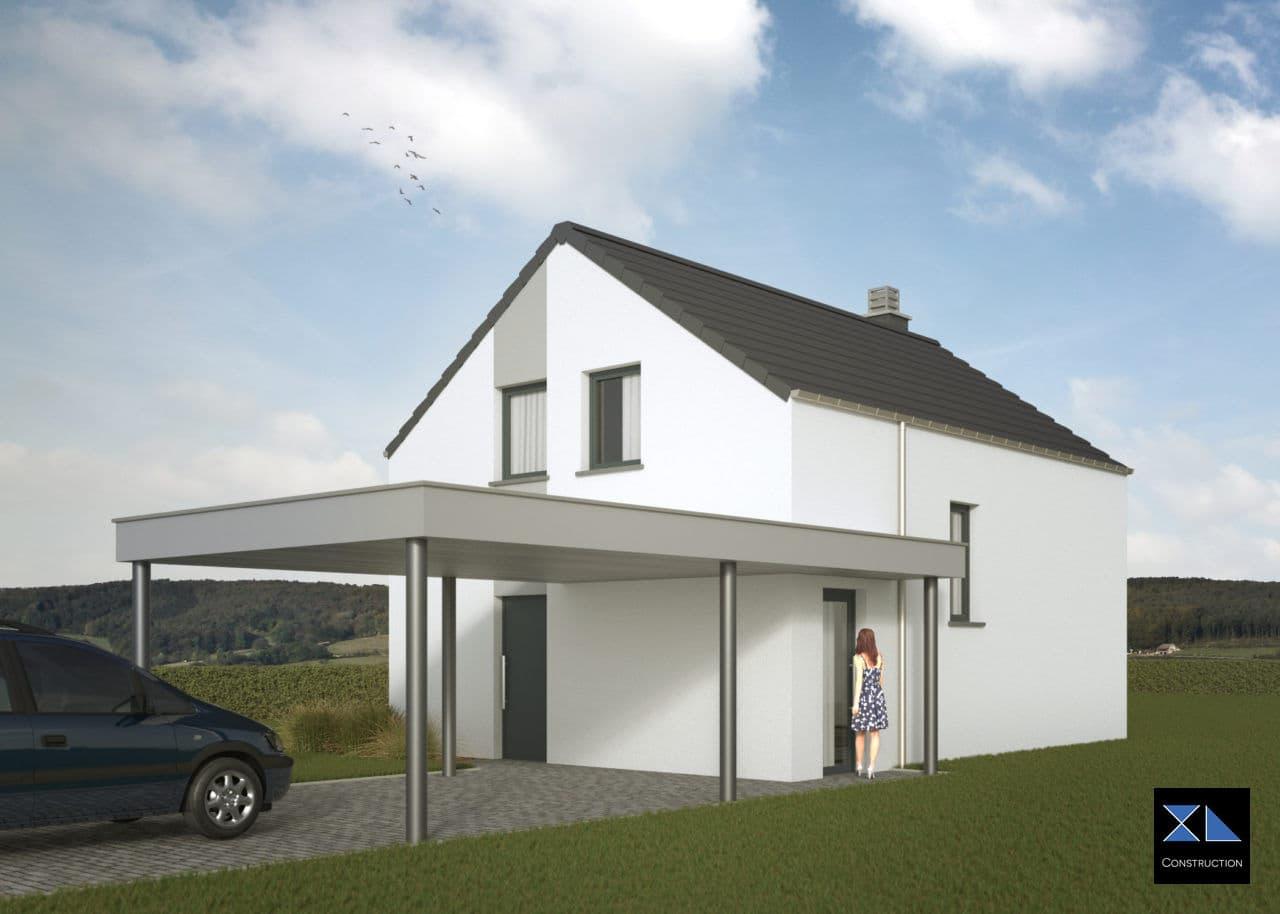 Construction de Maison clé sur porte modèle XL05