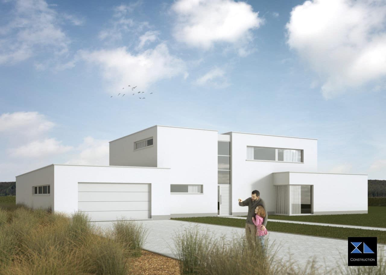 Villa de prestige modèle XL46 par notre entreprise générale de construction