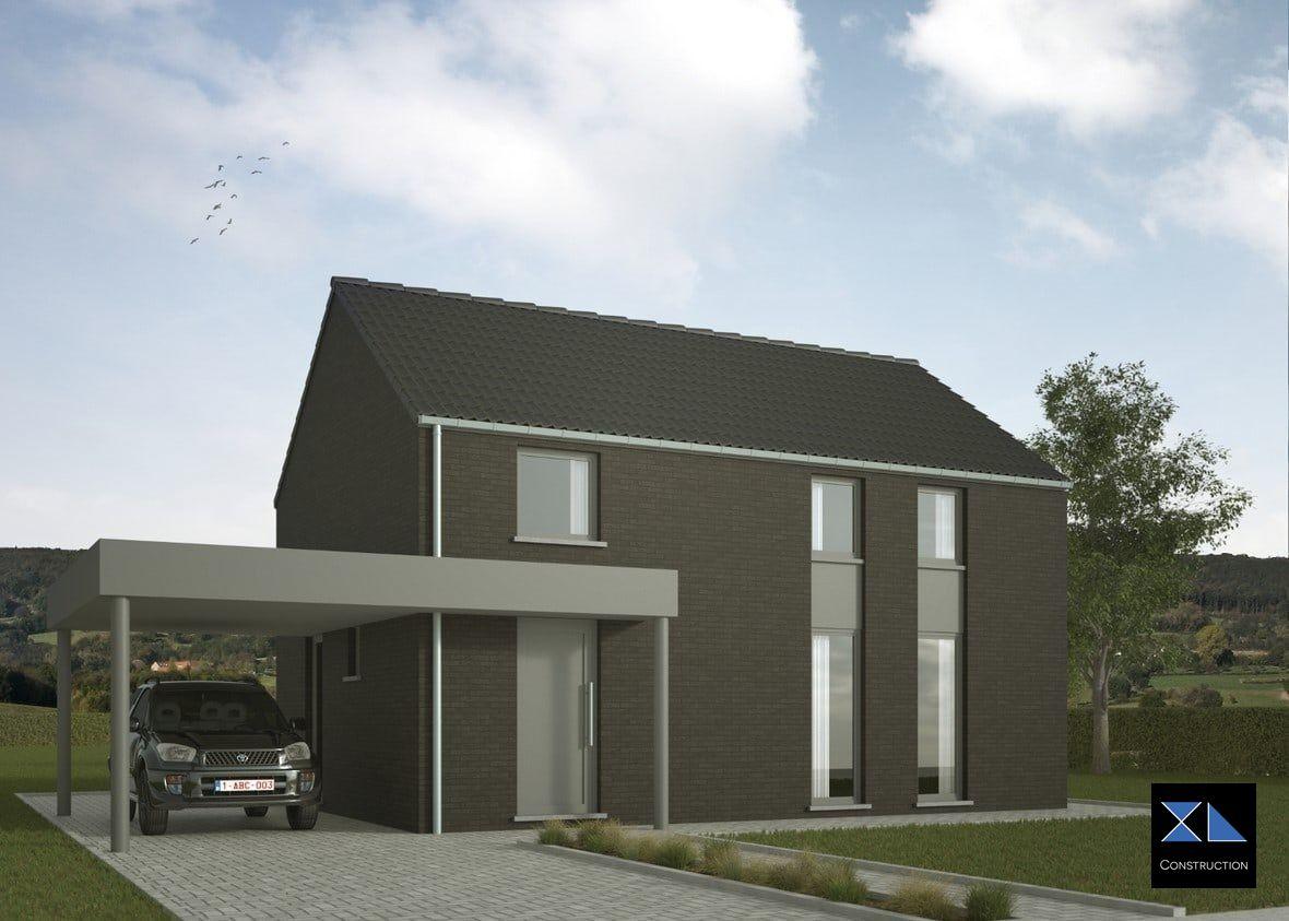 Construction de Maison clé sur porte modèle XL03