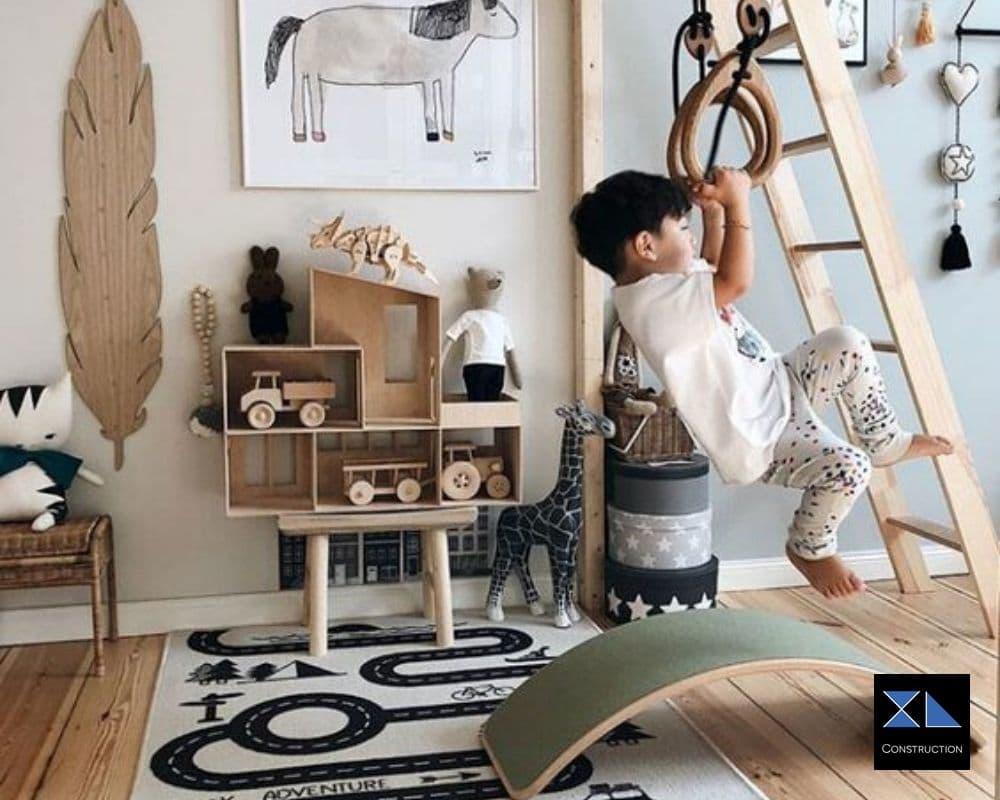 aménagement chambre évolutive enfant